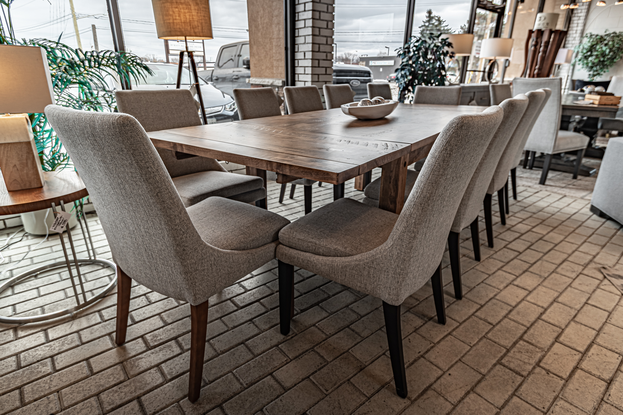STOCK adirondack table solid cappuccino or envy or 72 extension cappuccino or envy