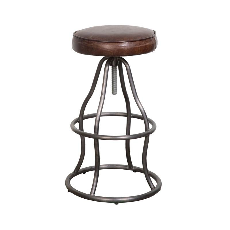 STOCK lh boston stool brown