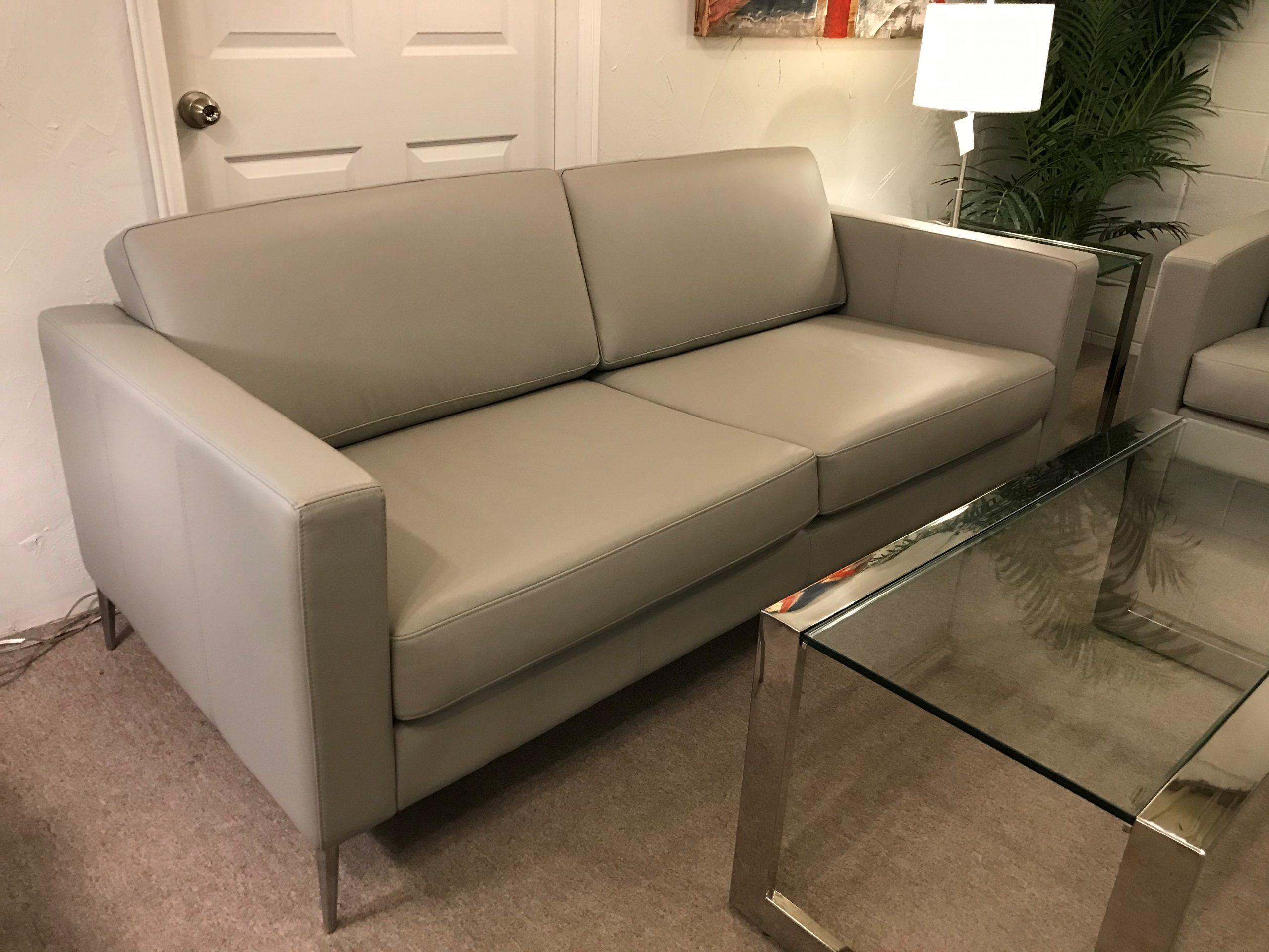 kensington lcraft leather sofa