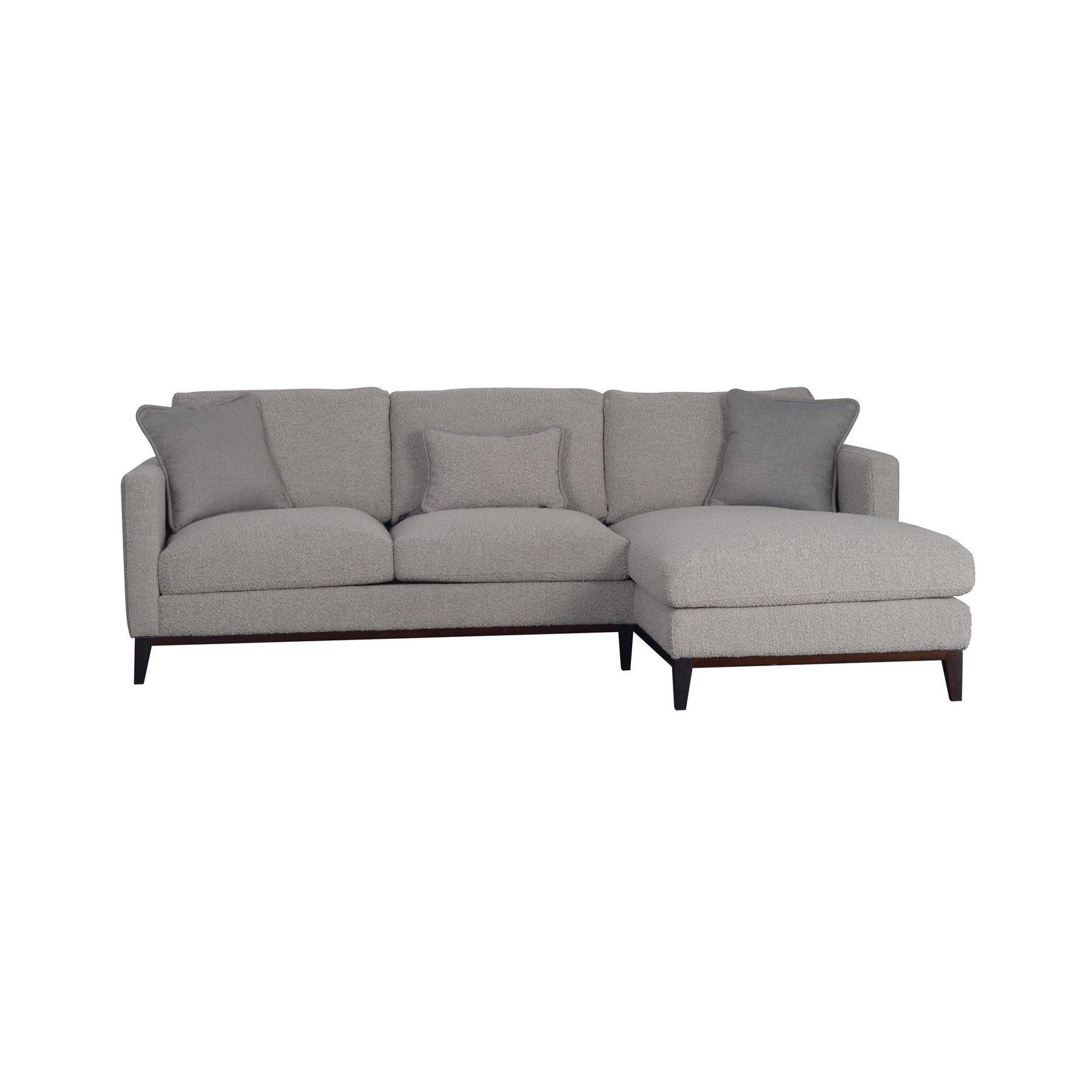 boucle sofa chaise